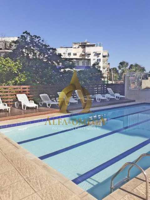 17 - Apartamento Avenida Geremário Dantas,Tanque, Rio de Janeiro, RJ À Venda, 2 Quartos, 55m² - AOJ20141 - 15