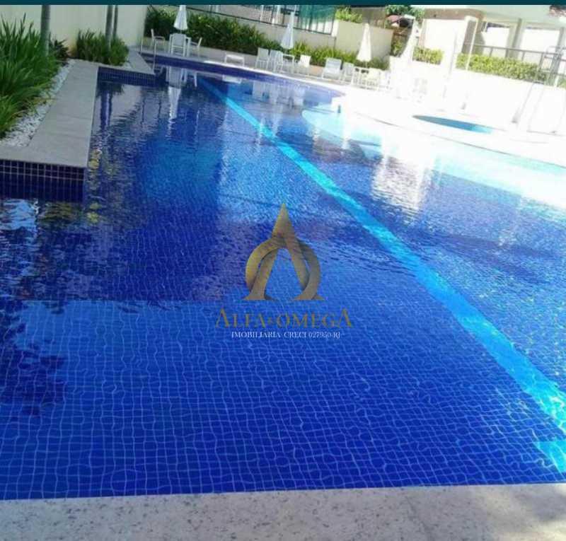1 - Apartamento para venda e aluguel Rua Francisco de Paula,Jacarepaguá, Rio de Janeiro - R$ 445.000 - AOJ20142 - 1