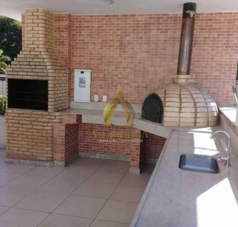 2 - Apartamento para venda e aluguel Rua Francisco de Paula,Jacarepaguá, Rio de Janeiro - R$ 445.000 - AOJ20142 - 4