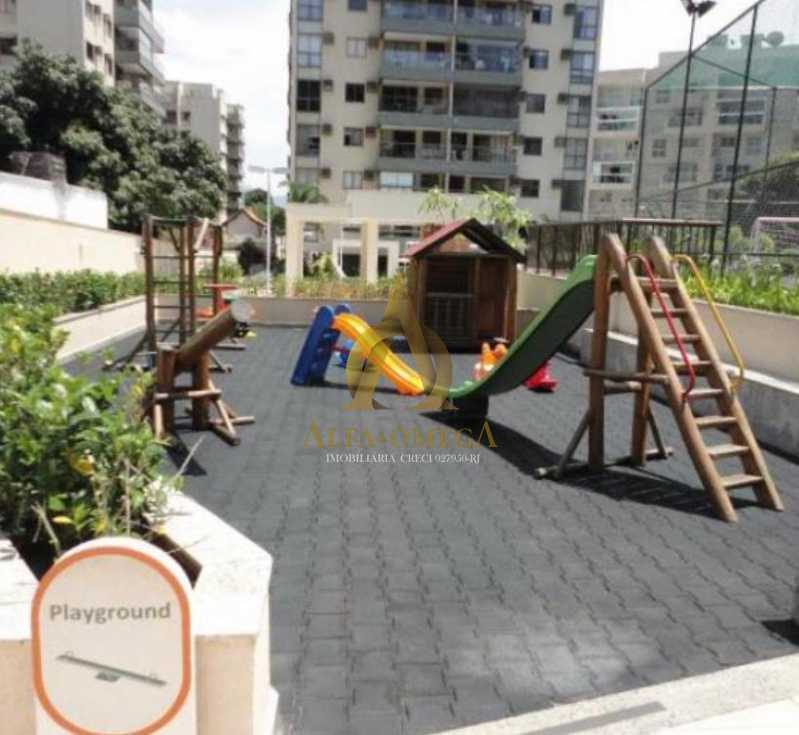 9 - Apartamento para venda e aluguel Rua Francisco de Paula,Jacarepaguá, Rio de Janeiro - R$ 445.000 - AOJ20142 - 8