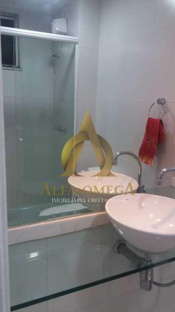 8 - Apartamento Estrada Marechal Miguel Salazar Mendes de Morais,Taquara, Rio de Janeiro, RJ À Venda, 2 Quartos, 54m² - AOJ20146 - 22