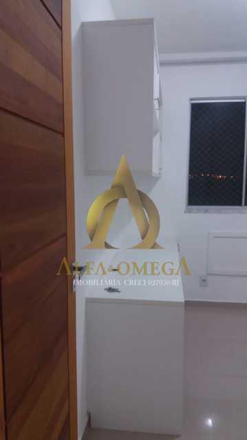 16 - Apartamento Estrada Marechal Miguel Salazar Mendes de Morais,Taquara, Rio de Janeiro, RJ À Venda, 2 Quartos, 54m² - AOJ20146 - 16