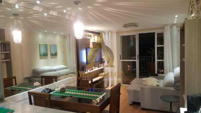 1 - Apartamento Estrada dos Bandeirantes,Curicica, Rio de Janeiro, RJ À Venda, 3 Quartos, 68m² - AOJ30034 - 1