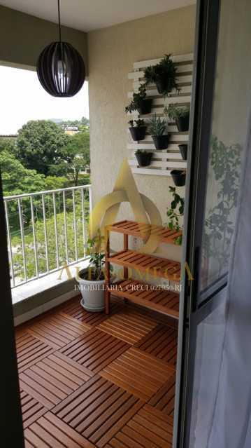 5 - Apartamento Estrada dos Bandeirantes,Curicica, Rio de Janeiro, RJ À Venda, 3 Quartos, 68m² - AOJ30034 - 5