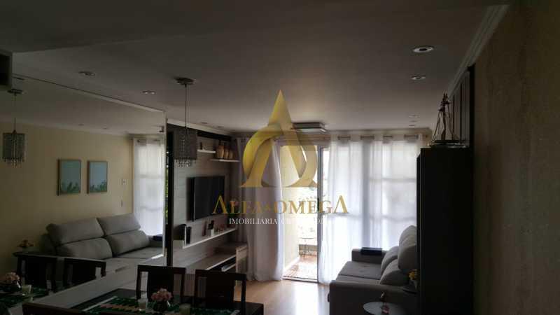7 - Apartamento Estrada dos Bandeirantes,Curicica, Rio de Janeiro, RJ À Venda, 3 Quartos, 68m² - AOJ30034 - 3