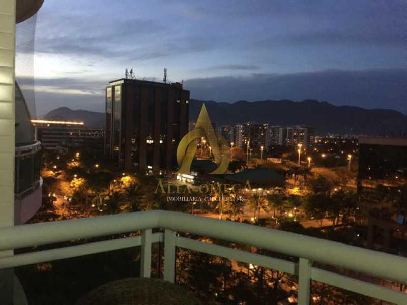 230002026721603 - Apartamento Barra da Tijuca, Rio de Janeiro, RJ Para Alugar, 2 Quartos, 100m² - AO20297L - 1