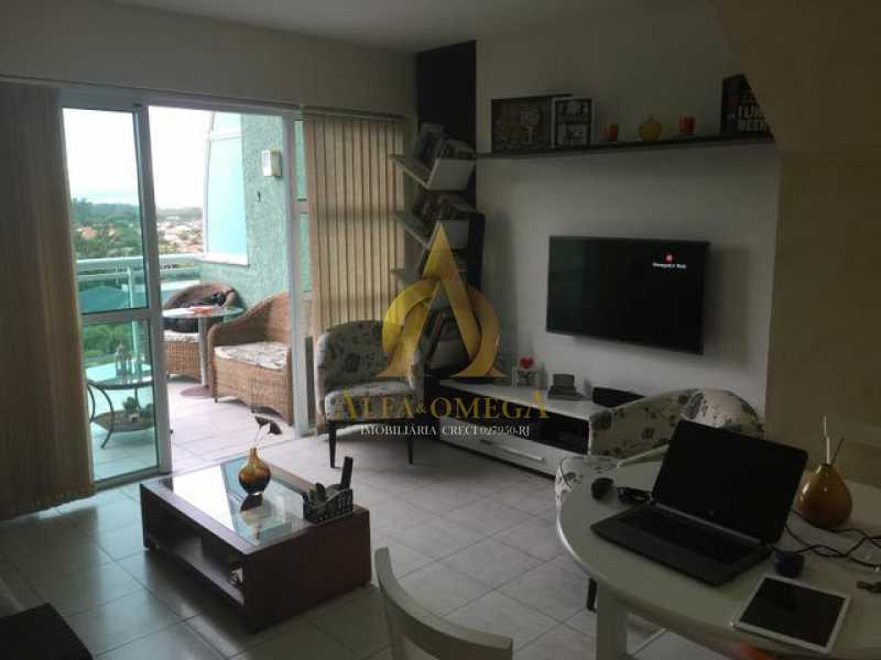 234002020814879 - Apartamento Barra da Tijuca, Rio de Janeiro, RJ Para Alugar, 2 Quartos, 100m² - AO20297L - 4