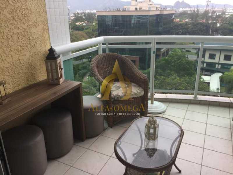 236002025192850 - Apartamento 2 quartos para alugar Barra da Tijuca, Rio de Janeiro - R$ 3.500 - AO20297L - 3