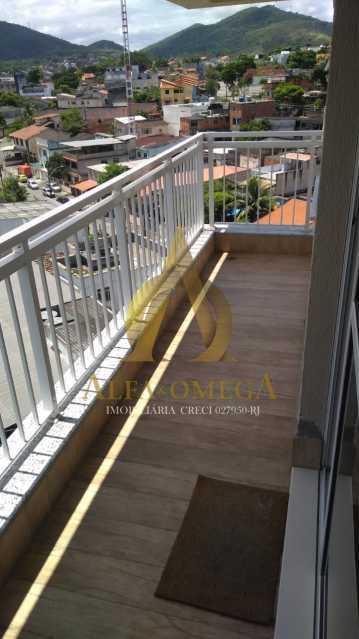 5 - Cobertura Rua Macembu,Taquara, Rio de Janeiro, RJ À Venda, 4 Quartos, 170m² - AOJ50027 - 3