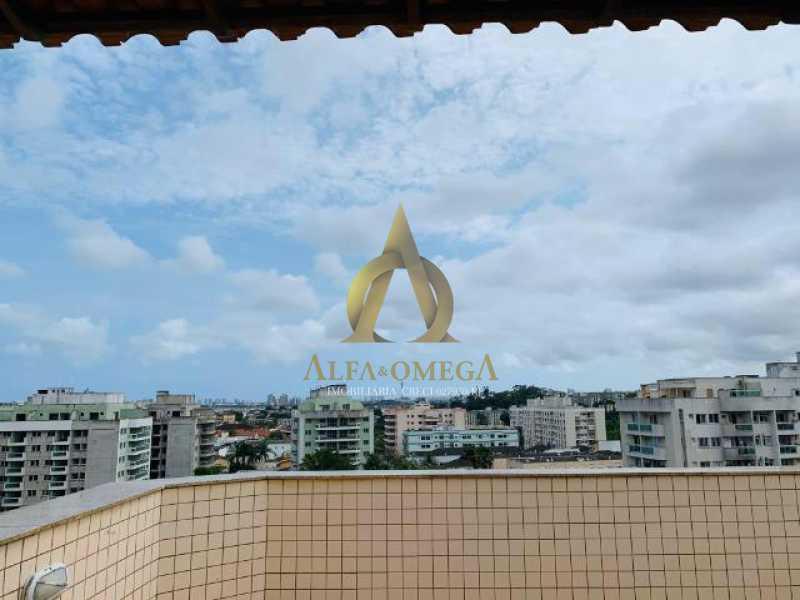 14 - Cobertura à venda Rua Retiro dos Artistas,Pechincha, Rio de Janeiro - R$ 525.000 - AOJ50028 - 16