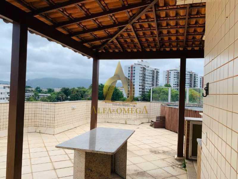 16 - Cobertura Rua Retiro dos Artistas,Pechincha, Rio de Janeiro, RJ Para Venda e Aluguel, 3 Quartos, 170m² - AOJ50028 - 15