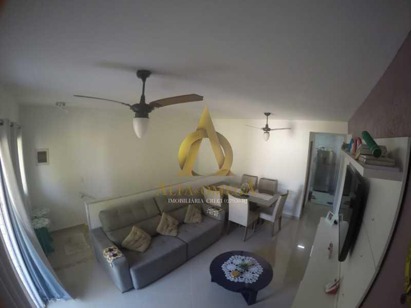 2 - Apartamento Rua Professor Waldemar Berardinelli,Pechincha, Rio de Janeiro, RJ Para Alugar, 2 Quartos, 111m² - AOJ20047L - 3