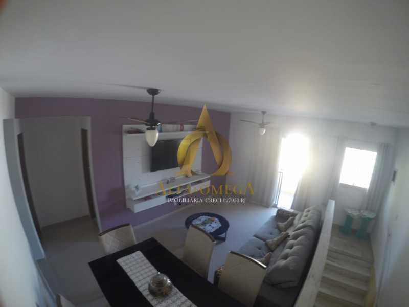 5 - Apartamento Rua Professor Waldemar Berardinelli,Pechincha, Rio de Janeiro, RJ Para Alugar, 2 Quartos, 111m² - AOJ20047L - 6