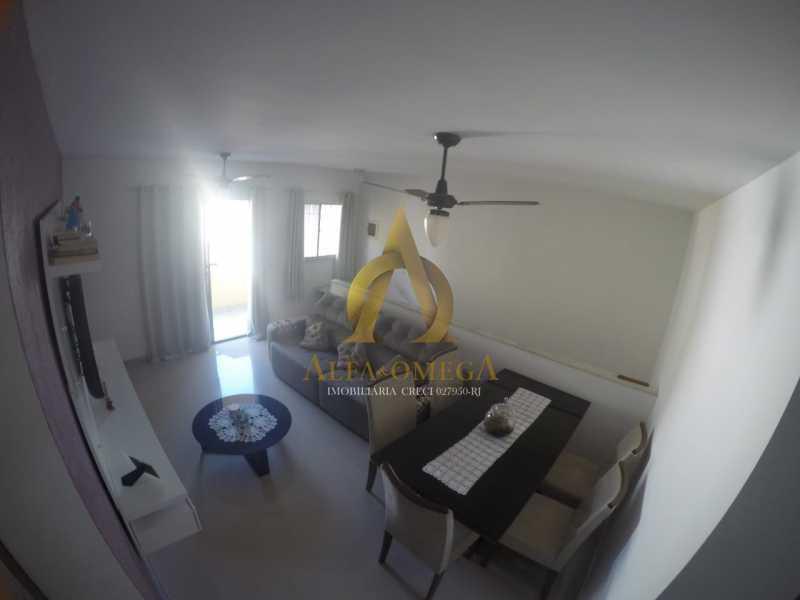 6 - Apartamento Rua Professor Waldemar Berardinelli,Pechincha, Rio de Janeiro, RJ Para Alugar, 2 Quartos, 111m² - AOJ20047L - 7