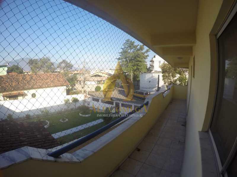 28 - Apartamento Rua Professor Waldemar Berardinelli,Pechincha, Rio de Janeiro, RJ Para Alugar, 2 Quartos, 111m² - AOJ20047L - 23