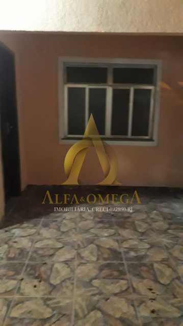 1 - Casa em Condomínio Rua Edgard Werneck,Pechincha, Rio de Janeiro, RJ Para Alugar, 2 Quartos, 66m² - AOJ60024L - 1