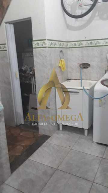 8 - Casa em Condomínio Rua Edgard Werneck,Pechincha, Rio de Janeiro, RJ Para Alugar, 2 Quartos, 66m² - AOJ60024L - 9