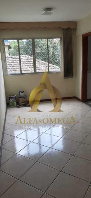 8 - Apartamento Estrada da Covanca,Tanque, Rio de Janeiro, RJ Para Alugar, 2 Quartos, 70m² - AOJ20048L - 1