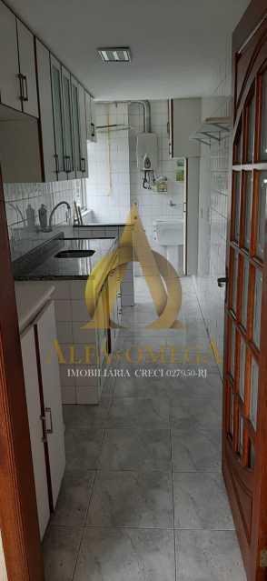 12 - Apartamento Estrada da Covanca,Tanque, Rio de Janeiro, RJ Para Alugar, 2 Quartos, 70m² - AOJ20048L - 16