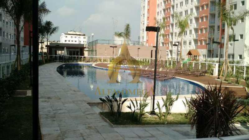 1 - Apartamento à venda Estrada do Engenho D´Agua,Anil, Rio de Janeiro - R$ 325.000 - AOJ20153 - 11