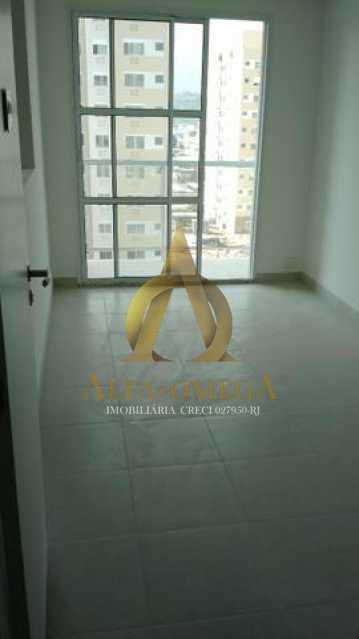 5 - Apartamento à venda Estrada do Engenho D´Agua,Anil, Rio de Janeiro - R$ 325.000 - AOJ20153 - 1