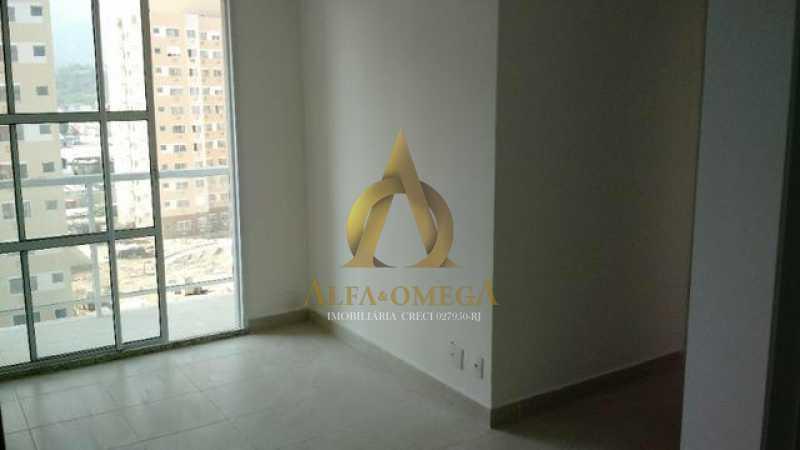 8 - Apartamento à venda Estrada do Engenho D´Agua,Anil, Rio de Janeiro - R$ 325.000 - AOJ20153 - 3