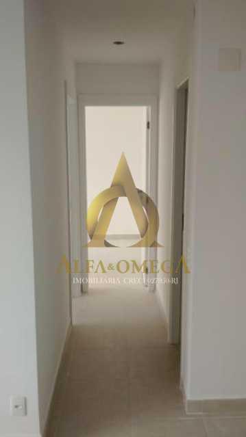 9 - Apartamento à venda Estrada do Engenho D´Agua,Anil, Rio de Janeiro - R$ 325.000 - AOJ20153 - 6