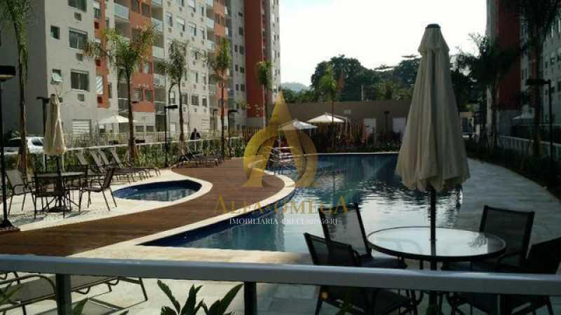 10 - Apartamento à venda Estrada do Engenho D´Agua,Anil, Rio de Janeiro - R$ 325.000 - AOJ20153 - 12