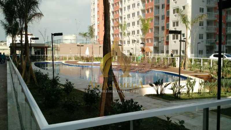 11 - Apartamento à venda Estrada do Engenho D´Agua,Anil, Rio de Janeiro - R$ 325.000 - AOJ20153 - 13