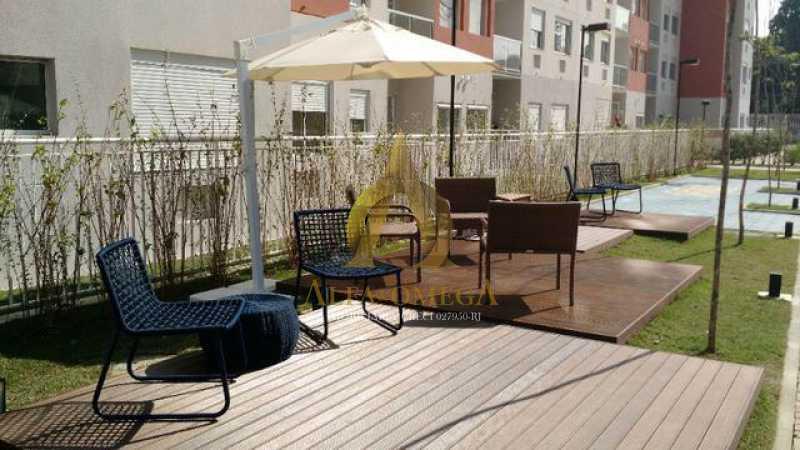 17 - Apartamento à venda Estrada do Engenho D´Agua,Anil, Rio de Janeiro - R$ 325.000 - AOJ20153 - 17