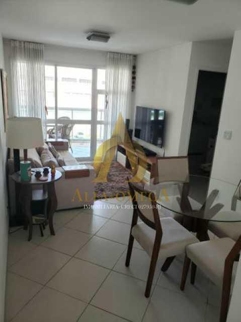 3 - Apartamento Rua Aroazes,Jacarepaguá, Rio de Janeiro, RJ À Venda, 2 Quartos, 70m² - AOJ20155 - 1