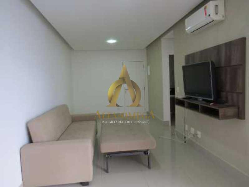 457b3b12ada479db93d9277ce130c8 - Apartamento Barra da Tijuca, Rio de Janeiro, RJ Para Alugar, 1 Quarto, 56m² - AO10160L - 9