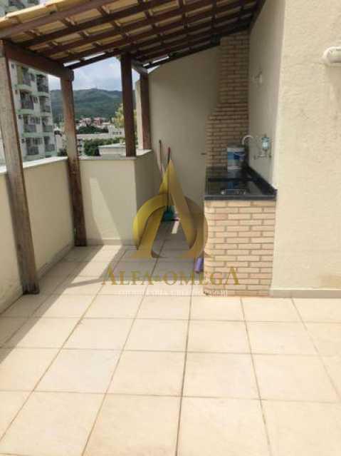 15 - Cobertura Estrada Capenha,Pechincha, Rio de Janeiro, RJ À Venda, 4 Quartos, 120m² - AOJ50033 - 17