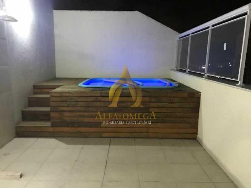 17 - Cobertura Estrada Capenha,Pechincha, Rio de Janeiro, RJ À Venda, 4 Quartos, 120m² - AOJ50033 - 19