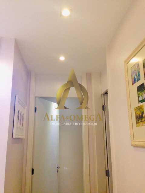 13 - Apartamento Avenida Salvador Allende,Barra da Tijuca, Rio de Janeiro, RJ À Venda, 2 Quartos, 53m² - AOJ20156 - 9
