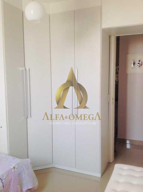 18 - Apartamento Avenida Salvador Allende,Barra da Tijuca, Rio de Janeiro, RJ À Venda, 2 Quartos, 53m² - AOJ20156 - 10