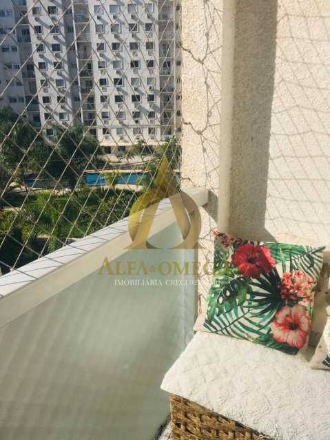 24 - Apartamento Avenida Salvador Allende,Barra da Tijuca, Rio de Janeiro, RJ À Venda, 2 Quartos, 53m² - AOJ20156 - 6