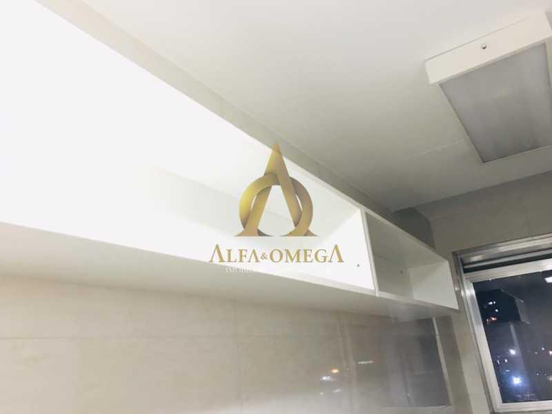 29 - Apartamento Avenida Salvador Allende,Barra da Tijuca, Rio de Janeiro, RJ À Venda, 2 Quartos, 53m² - AOJ20156 - 28