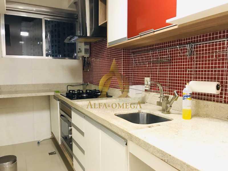 31 - Apartamento Avenida Salvador Allende,Barra da Tijuca, Rio de Janeiro, RJ À Venda, 2 Quartos, 53m² - AOJ20156 - 24