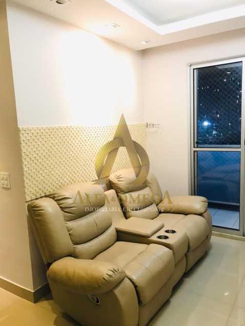 33 - Apartamento Avenida Salvador Allende,Barra da Tijuca, Rio de Janeiro, RJ À Venda, 2 Quartos, 53m² - AOJ20156 - 4