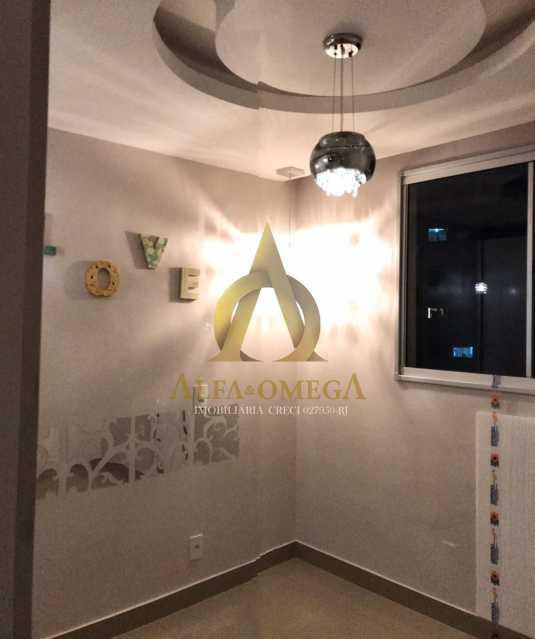 34 - Apartamento Avenida Salvador Allende,Barra da Tijuca, Rio de Janeiro, RJ À Venda, 2 Quartos, 53m² - AOJ20156 - 15