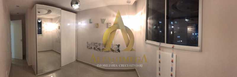 35 - Apartamento Avenida Salvador Allende,Barra da Tijuca, Rio de Janeiro, RJ À Venda, 2 Quartos, 53m² - AOJ20156 - 16
