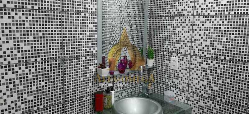 5 - Casa Rua André Rocha,Taquara, Rio de Janeiro, RJ Para Alugar, 2 Quartos, 80m² - AOJ60025L - 4