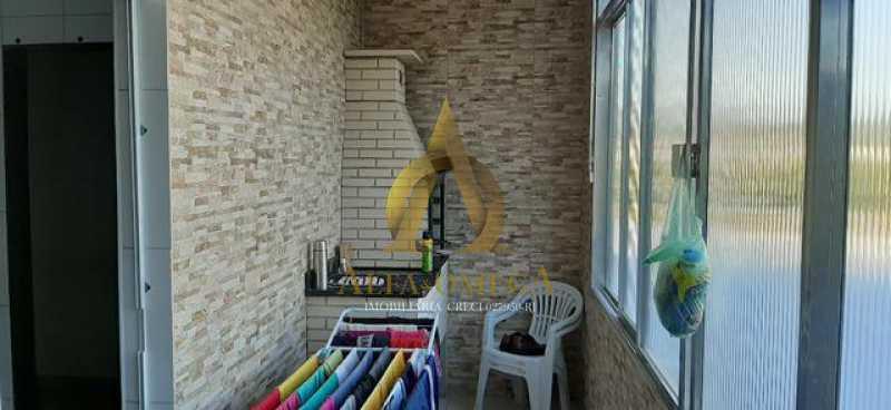 6 - Casa Rua André Rocha,Taquara, Rio de Janeiro, RJ Para Alugar, 2 Quartos, 80m² - AOJ60025L - 7