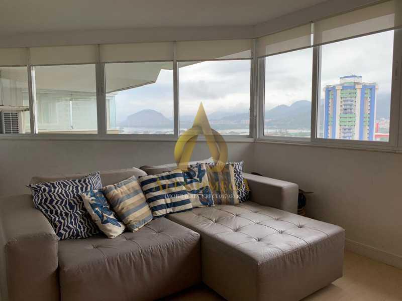 fb080d4d-3880-4737-80f4-046e2e - Apartamento Barra da Tijuca, Rio de Janeiro, RJ Para Venda e Aluguel, 4 Quartos, 300m² - AO40068 - 5