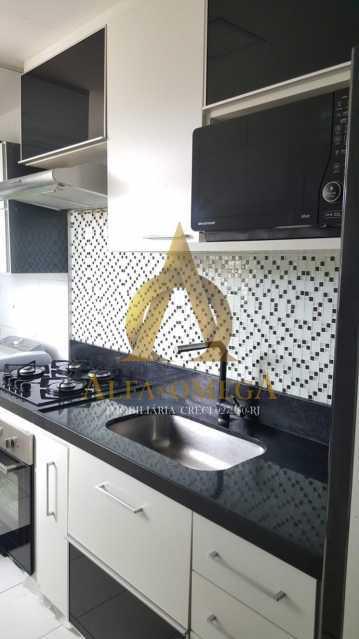6 - Apartamento Estrada da Boiuna,Taquara, Rio de Janeiro, RJ À Venda, 2 Quartos, 50m² - AOJ20162 - 13