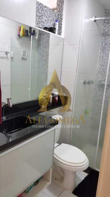 7 - Apartamento Estrada da Boiuna,Taquara, Rio de Janeiro, RJ À Venda, 2 Quartos, 50m² - AOJ20162 - 9