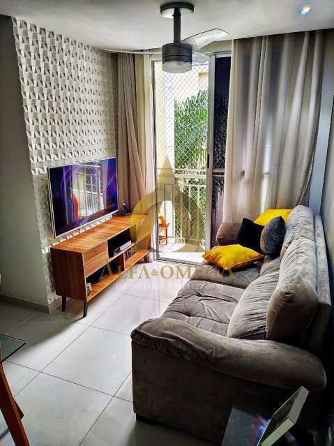 11 - Apartamento Estrada da Boiuna,Taquara, Rio de Janeiro, RJ À Venda, 2 Quartos, 50m² - AOJ20162 - 1