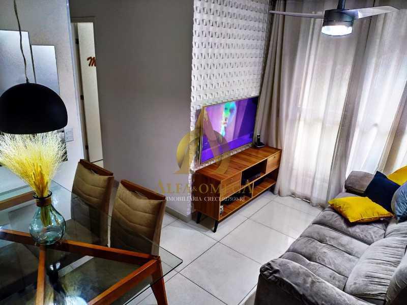 13 - Apartamento Estrada da Boiuna,Taquara, Rio de Janeiro, RJ À Venda, 2 Quartos, 50m² - AOJ20162 - 4