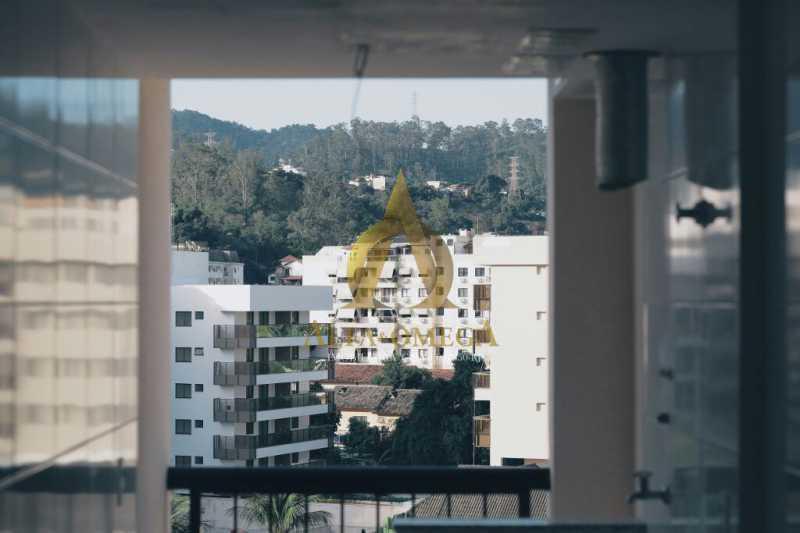 22 - Cobertura Avenida São Guilherme de Norwich,Anil, Rio de Janeiro, RJ Para Venda e Aluguel, 4 Quartos, 169m² - AOJ50035 - 20